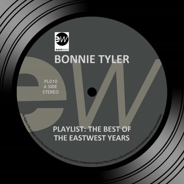 Bonnie Tyler PLAYLIST: THE BEST OF THE EASTWEST YEARS Cover