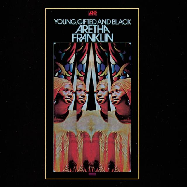Arethan Franklin YOUNG GIFTED AND BLACK Cover