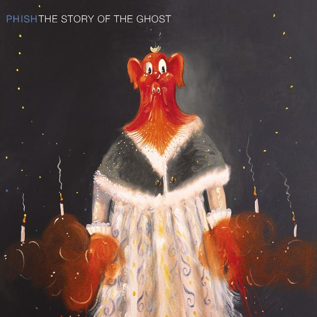 Phish THE STORY OF THE GHOST Cover