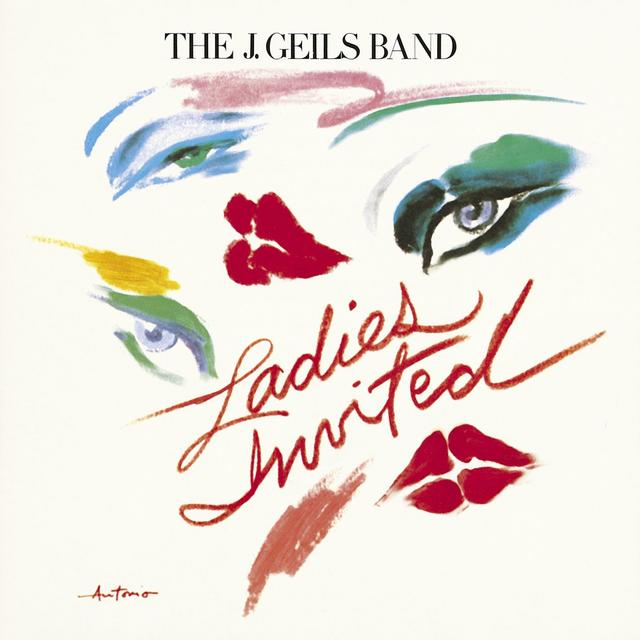 The J Geils Band LADIES INVITED Cover
