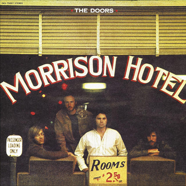 The Doors MORRISON HOTEL Cover
