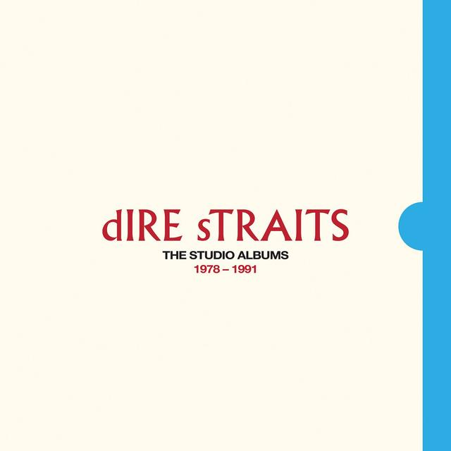 Dire Straits THE STUDIO ALBUMS Cover