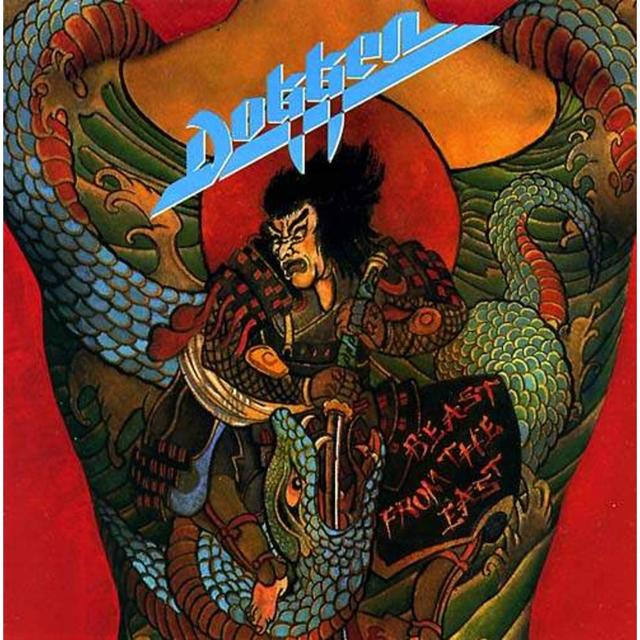 Dokken BEAST FROM THE EAST Cover