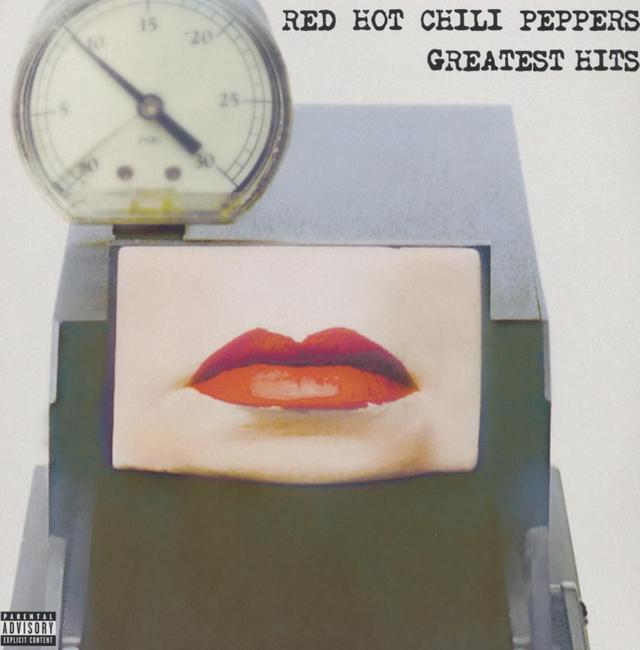 Red Hot Chili Peppers GREATEST HITS Cover