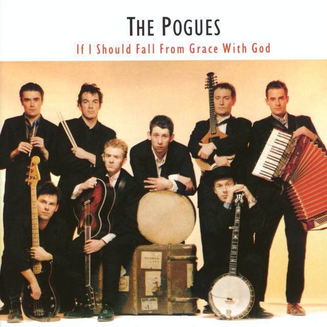 The Pogues IF I SHOULD FALL FROM GRACE FROM GOD Cover