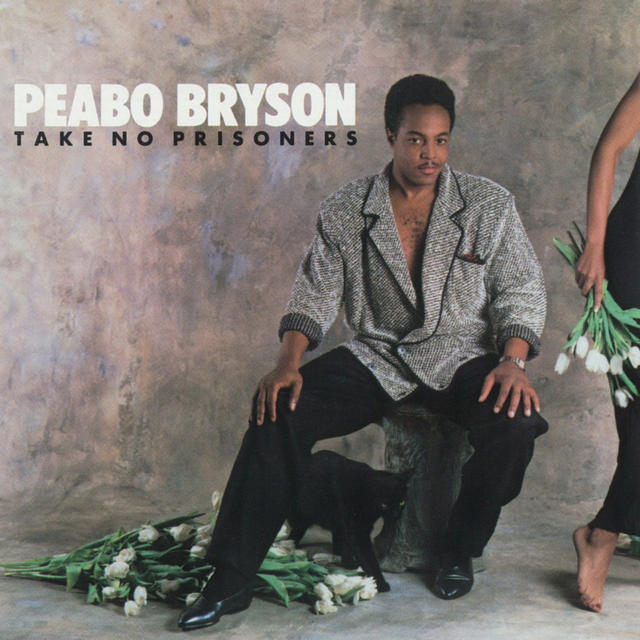 Peabo Bryson TAKE NO PRISONERS Cover