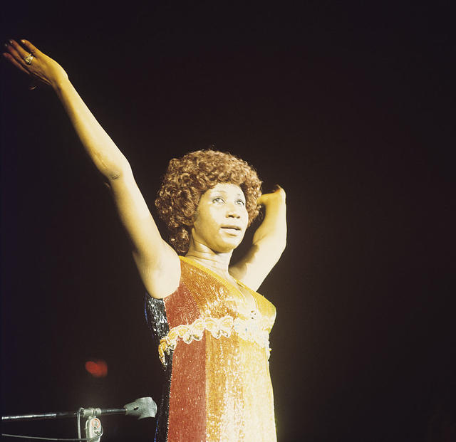 Aretha Franklin/Getty Images