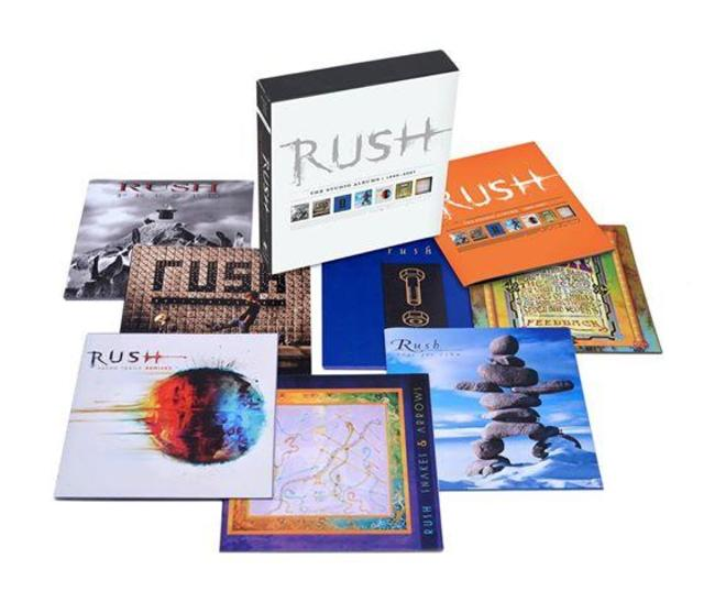 NEW RELEASES FROM RUSH