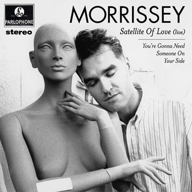 "NOW AVAILABLE: MORRISSEY ""SATELLITE OF LOVE (LIVE)"""