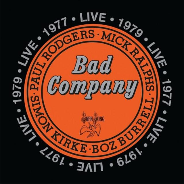 Now Available: Bad Company, Live in Concert 1977 & 1979