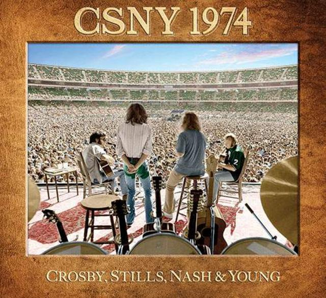 Now Available: Crosby, Stills, Nash & Young, CSNY 1974