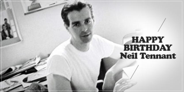 Happy Birthday, Neil Tennant!