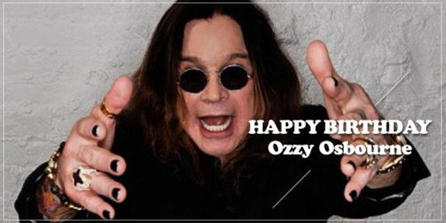 Happy Birthday, Ozzy Osbourne!