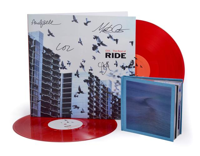 Enter to win an autographed copy of Ride OX4 on LP + a Deluxe Version of Nowhere on CD