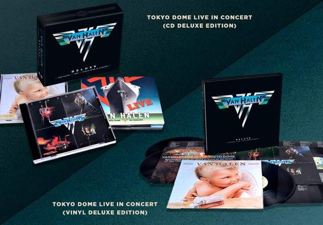 VAN HALEN TO RELEASE DEFINITIVE LIVE ALBUM -  TOKYO DOME LIVE IN CONCERT -   AVAILABLE MARCH 30/31 ON CD, VINYL AND DIGITAL