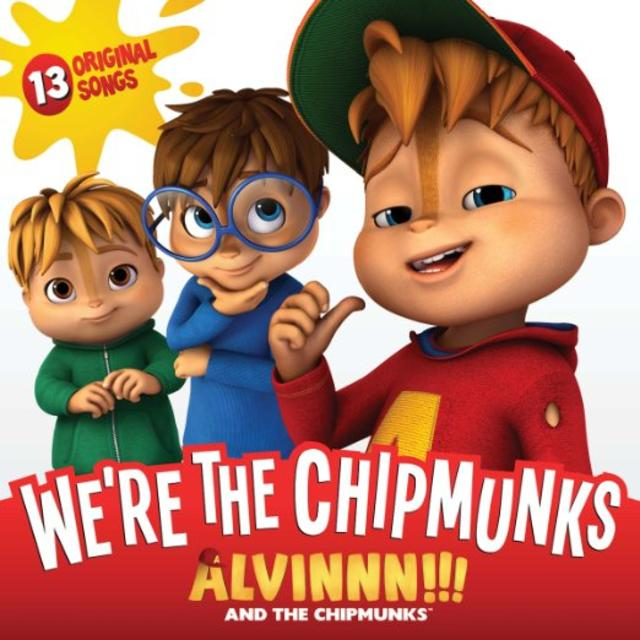 Now Available: Alvin and the Chipmunks, We're the Chipmunks | Rhino