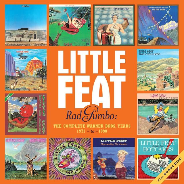 OUT NOW... A BIG FEAST OF LITTLE FEAT
