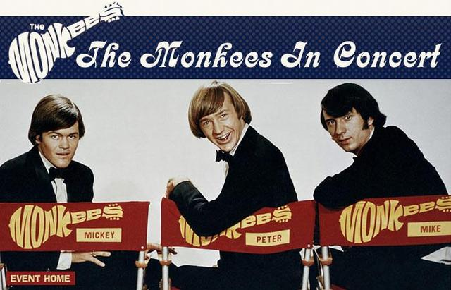 THE MONKEES IN CONCERT