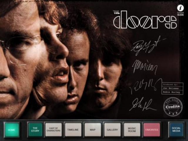 ANNOUNCING: THE DOORS OFFICIAL APP