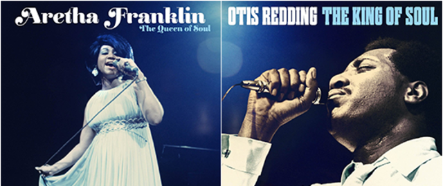 OTIS & ARETHA: NEW RELEASES NOW AVAILABLE