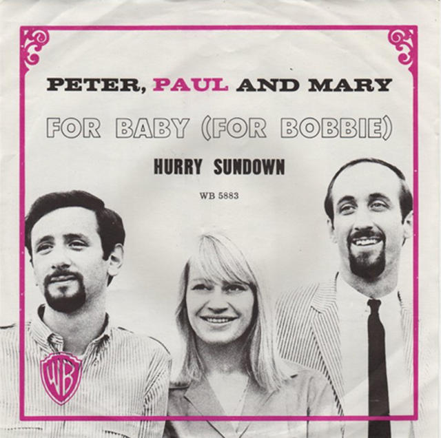 "Happy 50th: Peter, Paul and Mary, ""Hurry Sundown"""