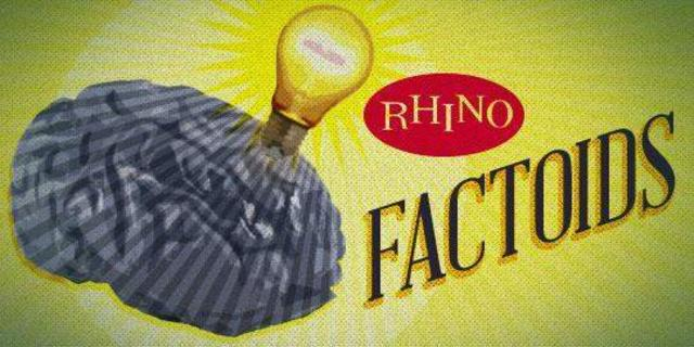 Rhino Factoids: Happy Anniversary Reprise Records