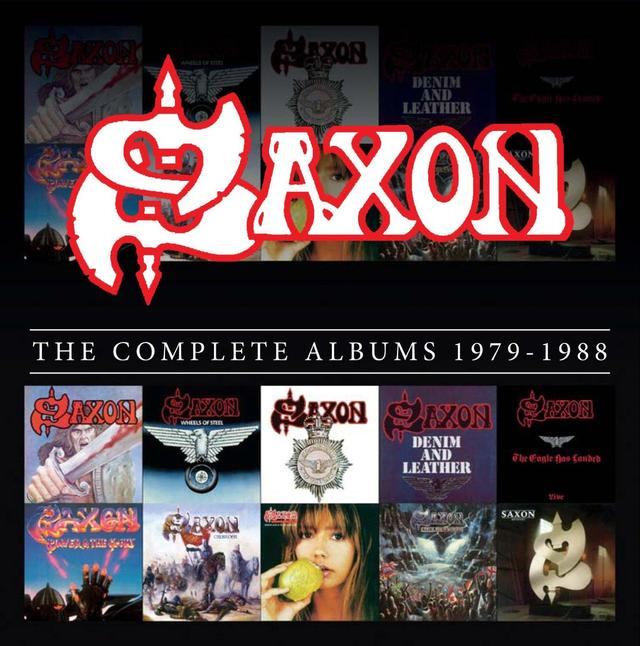 Enter to win Saxon's THE COMPLETE STUDIO ALBUMS COLLECTION 1979-1988