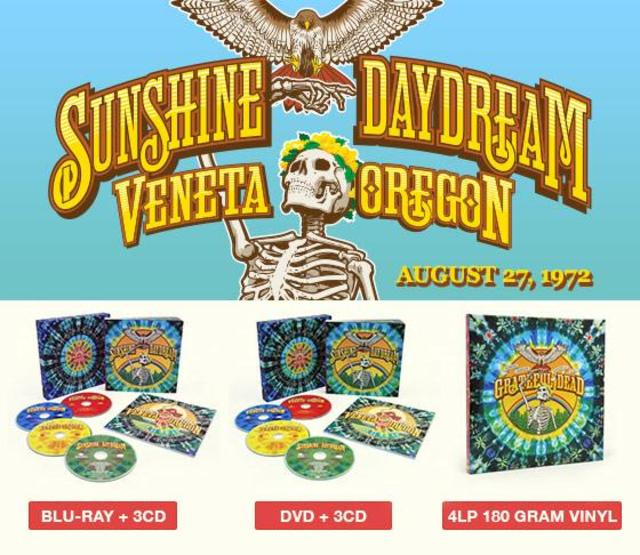OUT NOW: Grateful Dead - Sunshine Daydream