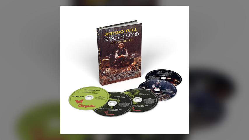 Now Available: Jethro Tull, SONGS FROM THE WOOD: THE 40TH ANNIVERSARY EDITION
