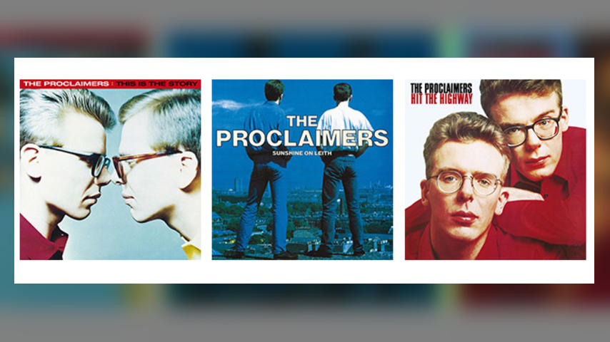 Out Now: The Proclaimers LPs