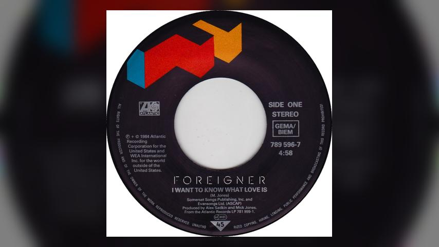 "Once Upon a Time in the Top Spot: Foreigner, ""I Want To Know What Love Is"""