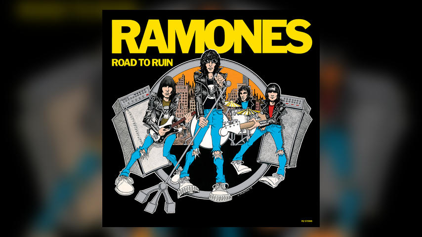 Ramones Road to Ruin Cover