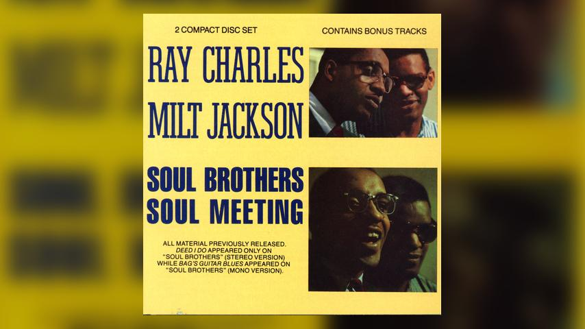 Milt Jackson & Ray Charles, SOUL BROTHERS/SOUL MEETING Cover