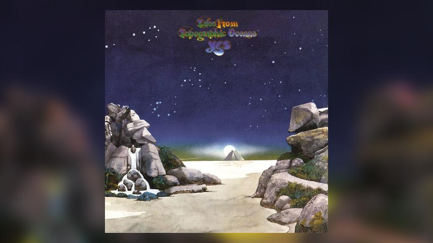 Yes, TALES FROM TOPOGRAPHIC OCEANS Cover