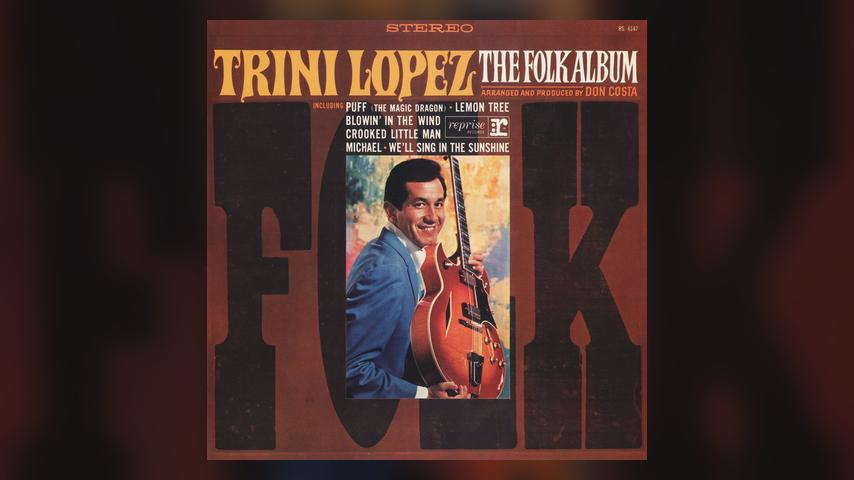Trini Lopez, THE FOLK ALBUM cover