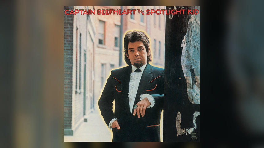 Captain Beefheart, THE SPOTLIGHT KID Cover