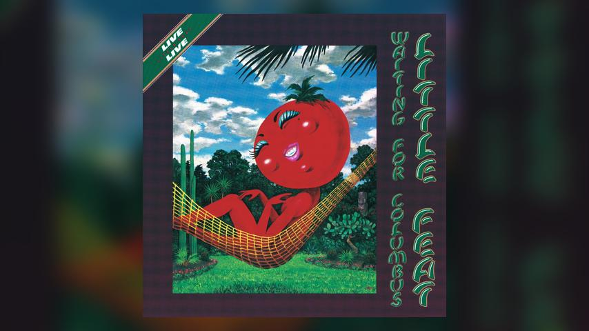 Little Feat WAITING FOR COLUMBUS LIVE Album Cover