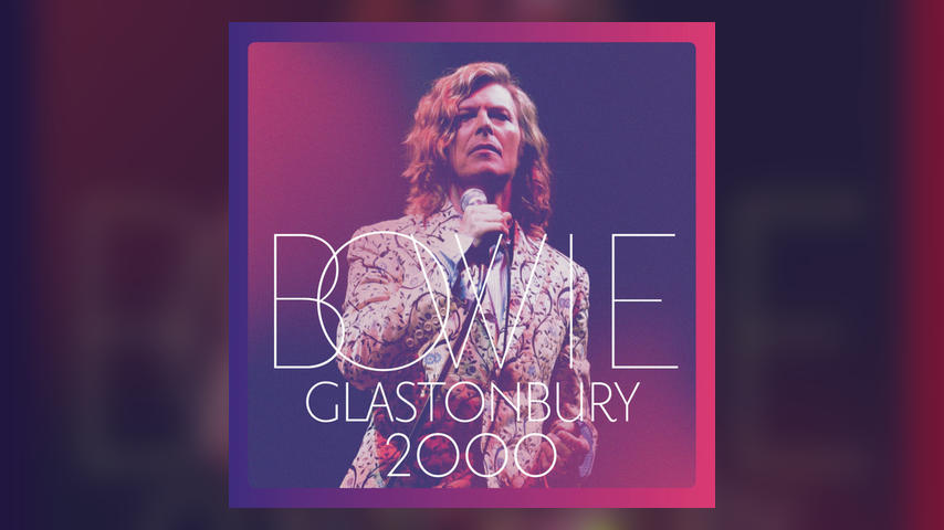 David Bowie GLASTONBURY 2000 Album Cover Art