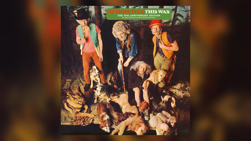 Jethro Tull THIS WAS 50th Anniversary Remaster Album Art