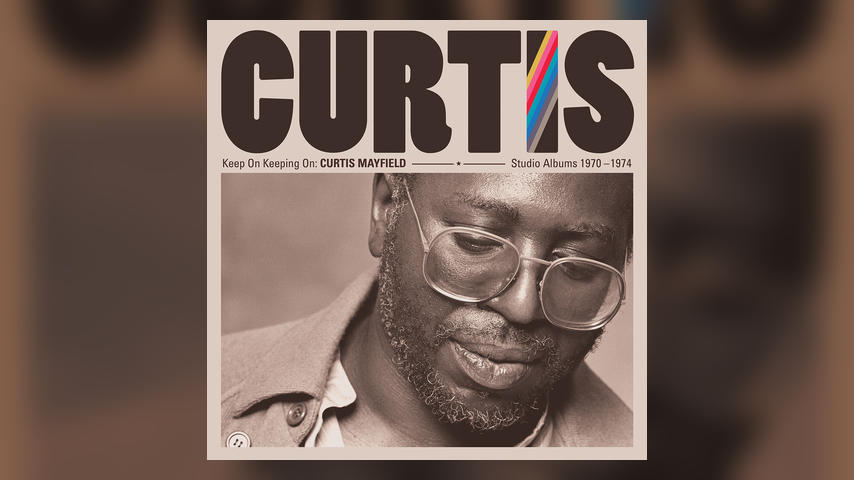 Curtis Mayfield KEEP ON KEEPING ON Cover