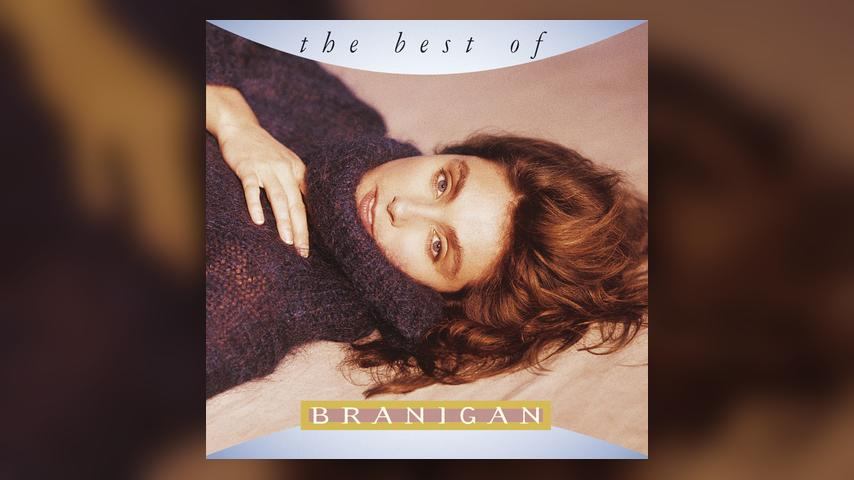 Laura Branigan THE BEST OF BRANIGAN Cover Art