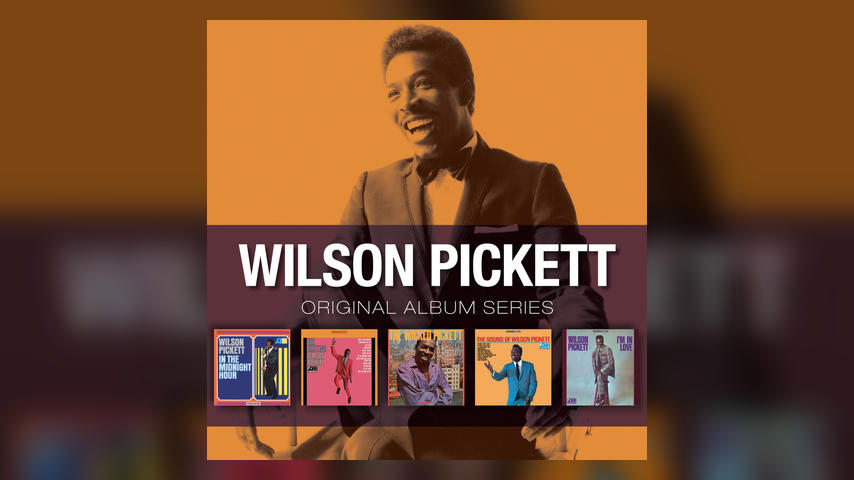 Wilson Pickett ORIGINAL ALBUM SERIES Cover