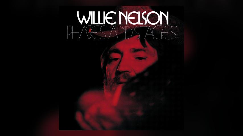 Willie Nelson PHASES AND STAGES Album Cover
