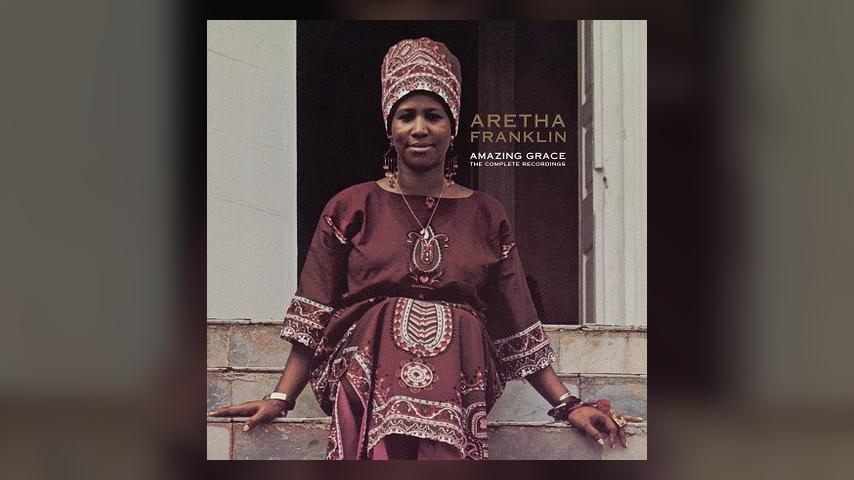 Aretha Franklin AMAZING GRACE Album Cover Art