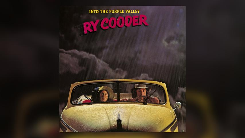 Ry Cooder INTO THE PURPLE VALLEY Album Cover