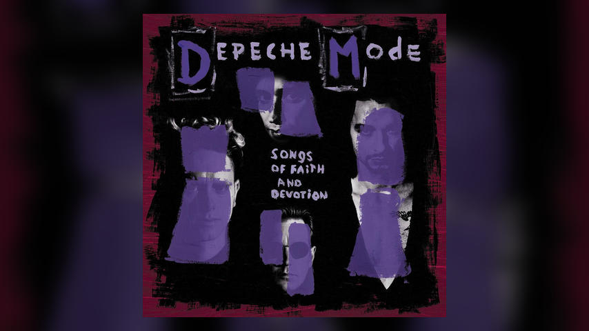 Depeche Mode SONGS OF FAITH AND DEVOTION Album Cover