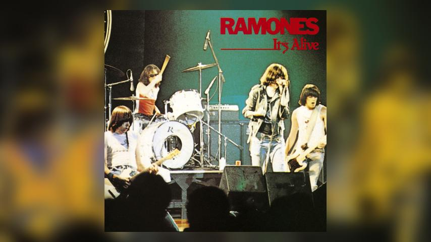 Ramones IT'S ALIVE Album Cover