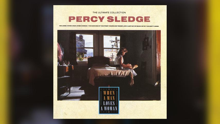 Percy Sledge THE ULTIMATE COLLECTION Album Cover