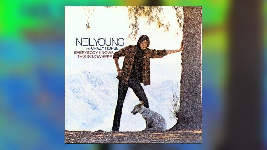 Neil Young & Crazy Horse, EVERYBODY KNOWS THIS IS NOWHERE Album Cover