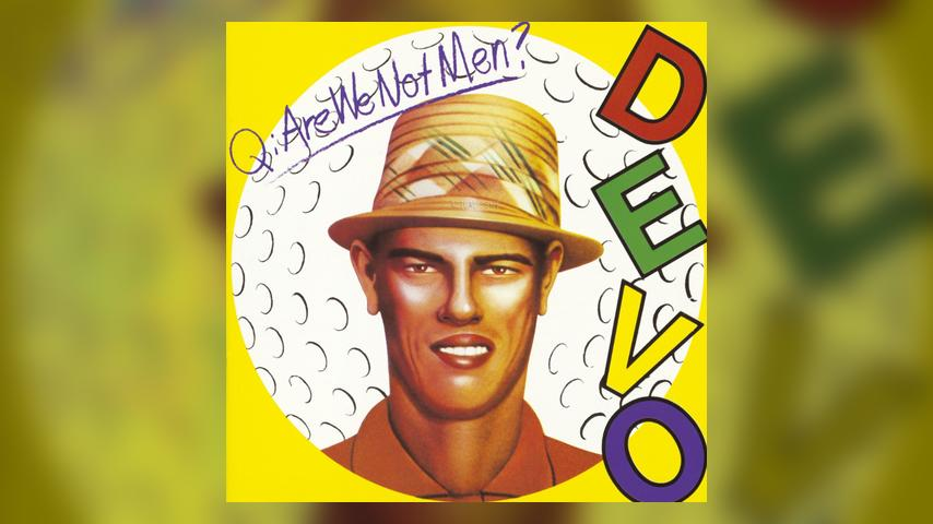 Devo ARE WE NOT MEN? Album Cover